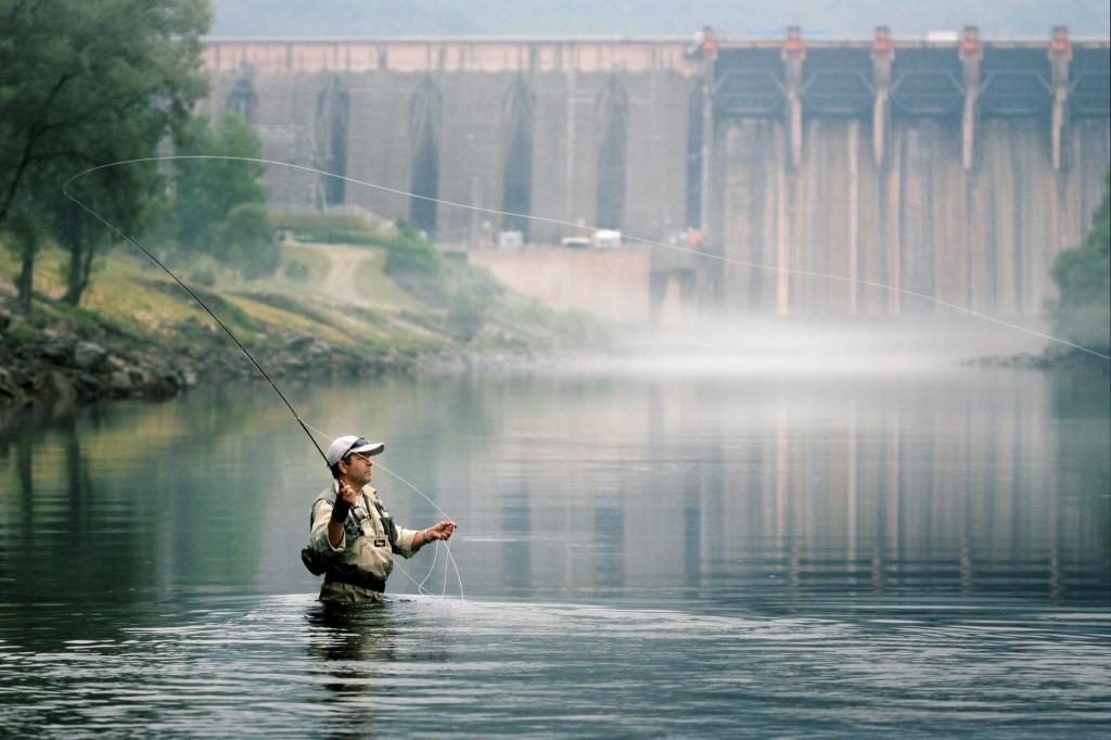 Риболов на Дрина