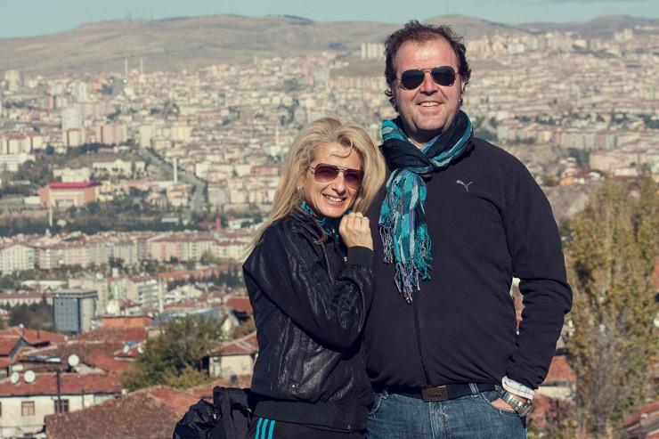 Спас и Ани в Анкара