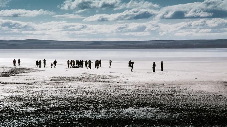 Езерото Туз до Кападокия