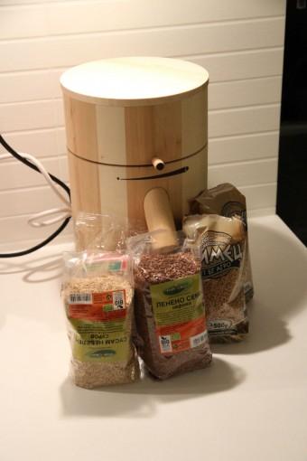 Продукти за содена питка с лимец и домашна мелничка