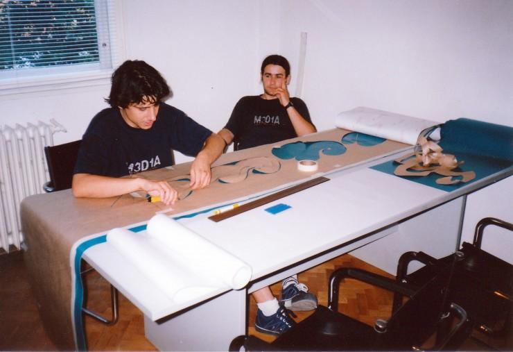Стойчо и Енчо в рекламна агенция Медия Дизайн