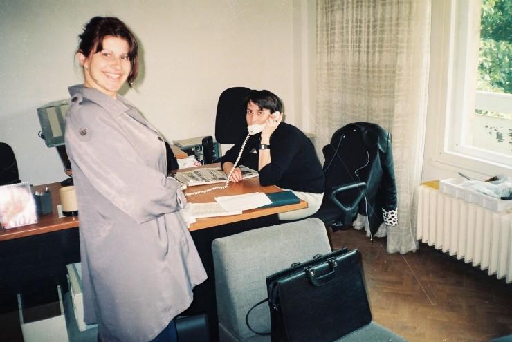 Мимито и Нина в рекламна агенция Медия Дизайн