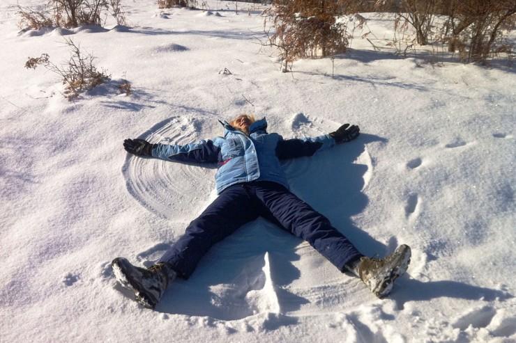 хижа Рай - Снежен ангел